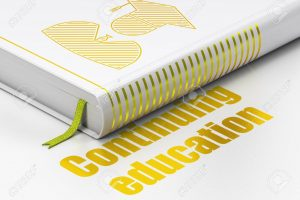 Learning concept: book Student, Continuing Education on white background